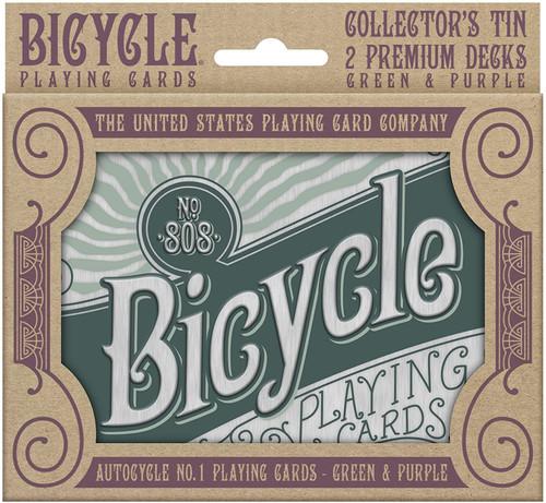 Image of Bicycle Retro Gift Tin Set packaging