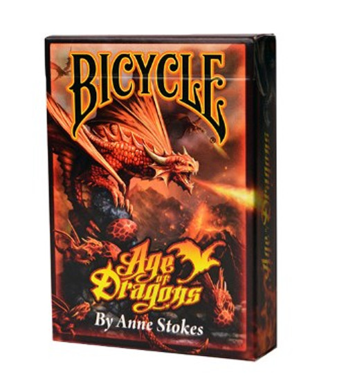 Cards: Bicycle Age Of Dragons AnneStokes box image