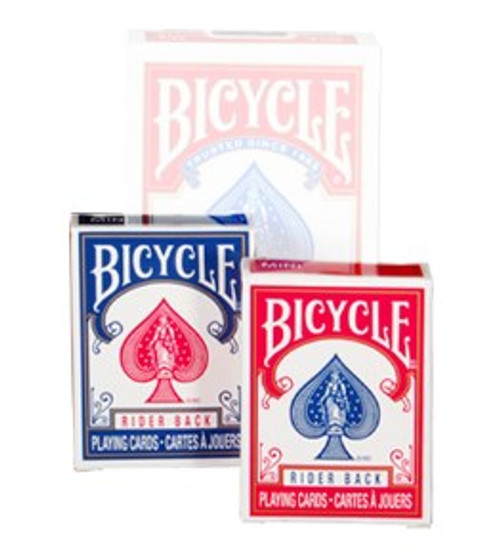 Cards: Bicycle Mini Red/Blue box image