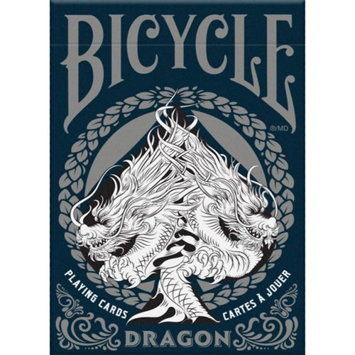 Cards: Bicycle Dragon Silver box image