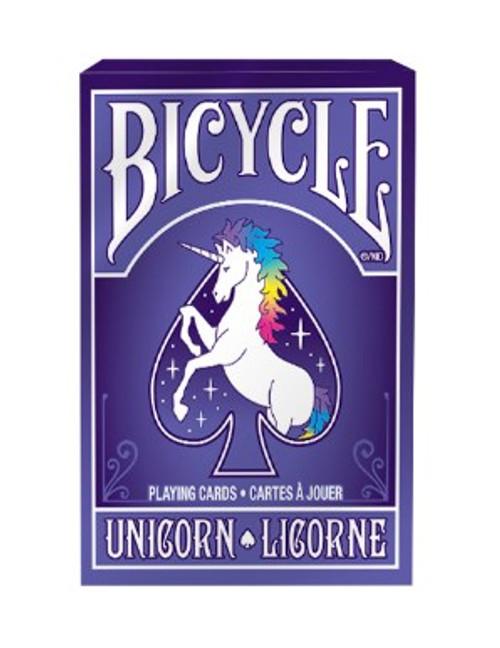 Cards: Bicycle Unicorn Purple/Pink box image