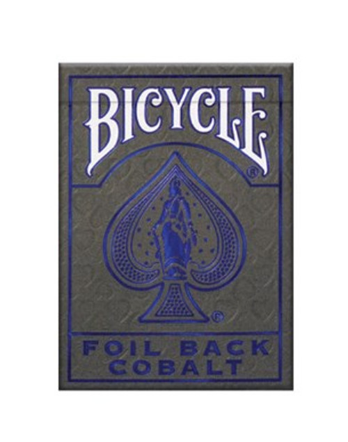 Cards: Bicycle MetalLuxe Blue (new) box image