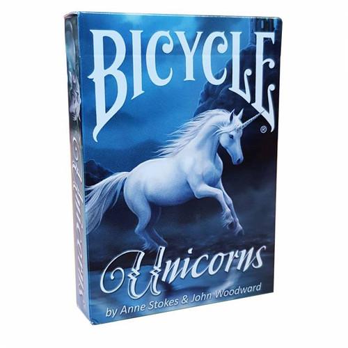 Cards: Bicycle Unicorns Anne Stokes box image