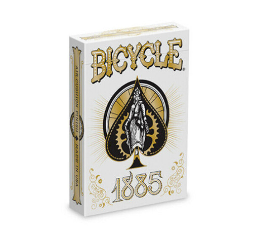 Cards: Bicycle 1885 box