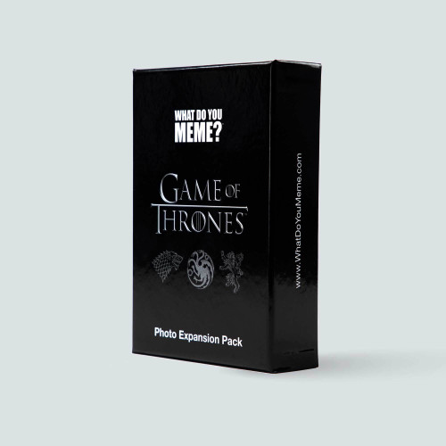 What Do You Meme: Game of Thrones Expansion Pack (Sold Out)