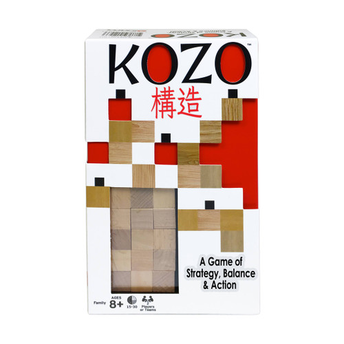 Kozo stacking strategy game