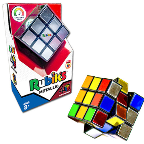 Rubik's 3x3 40th Anniversary Metallic