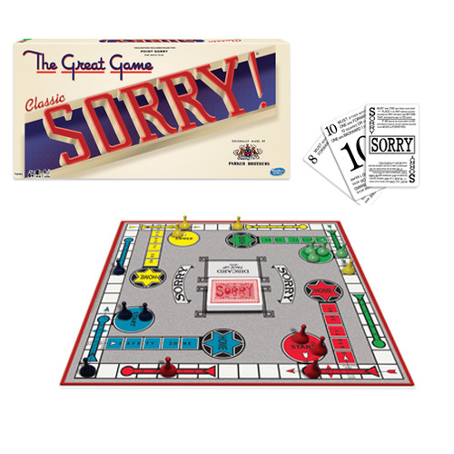 Classic Sorry Box and board layout