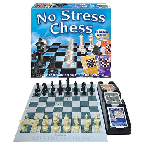 No Stress Chess Box and Game layout