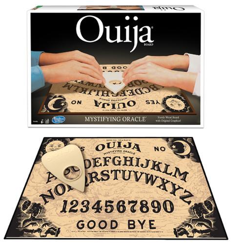 Ouija box and board graphic