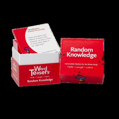 Random Knowledge box and cards