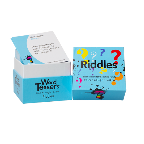Riddles box and cards