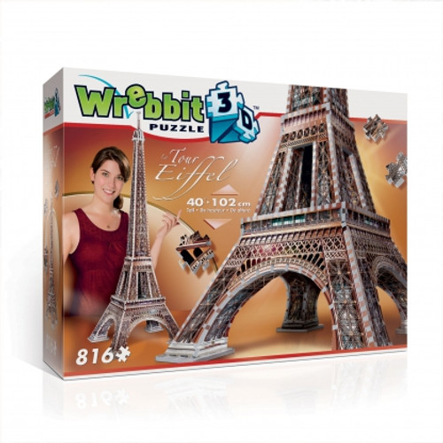 Eiffel Tower 3D Puzzle Box