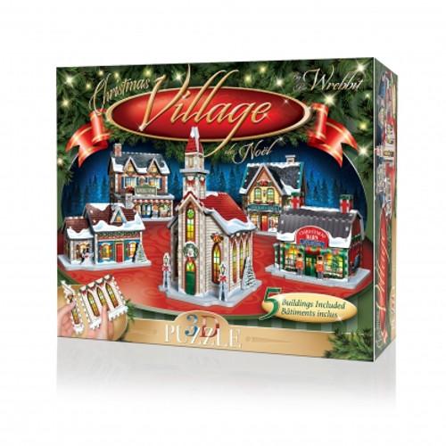 Christmas Village 3D Puzzle Box