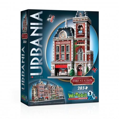 Fire Station 3D Puzzle Box
