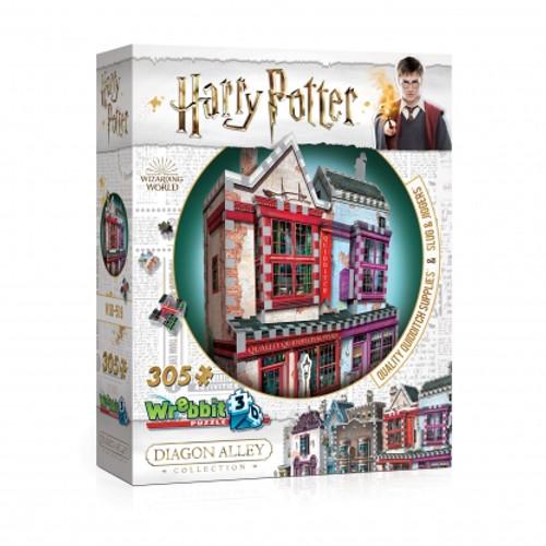 Quality Quidditch Diagon Alley 3D Puzzle Box
