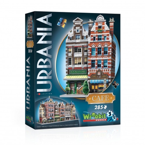Urbania Cafe 3D Puzzle Box