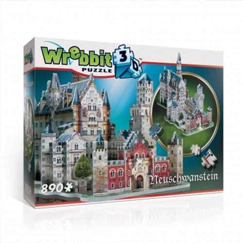 Neuschwanstein 3D Puzzle Box