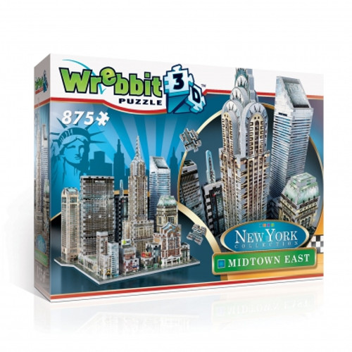Midtown East 3D Puzzle Box