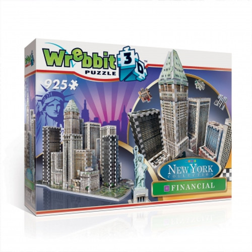 New York Financial 3D Puzzle Box