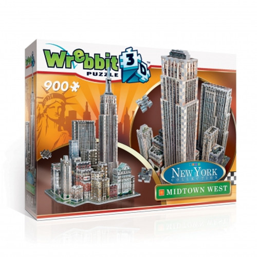 Midtown West 3D Puzzle Box