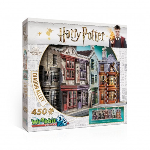 Diagon Alley 3D Puzzle Box