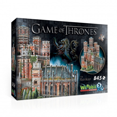 Red Keep 3D Puzzle Box