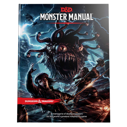Monster Manual cover photo