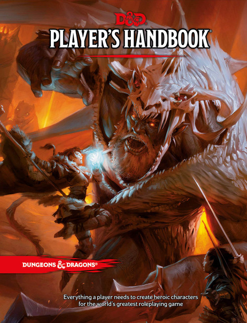 Picture of Players Handbook cover