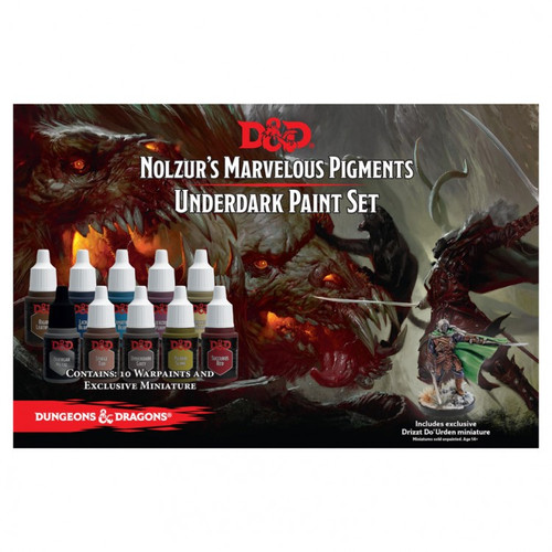 D&D: Underdark Paint Set