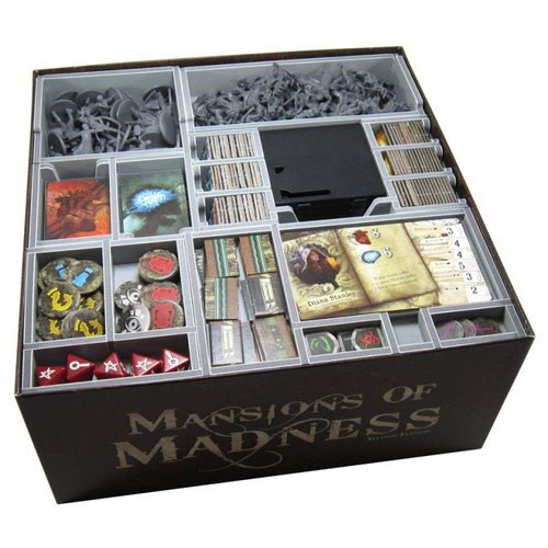 Box Insert: Mansions of Madness 2E & Expansions