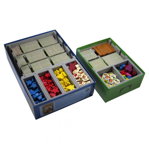Box Insert: Carcassonne & Exps view