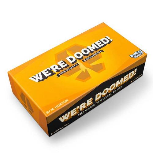 We're Doomed! box image