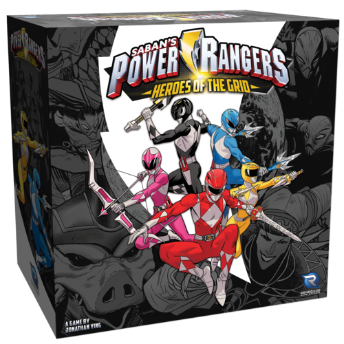 Power Rangers: Heroes of the Grid box