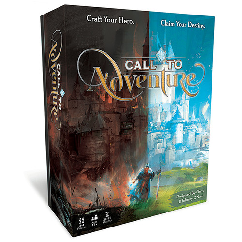 Box image of Call to Adventure base game.
