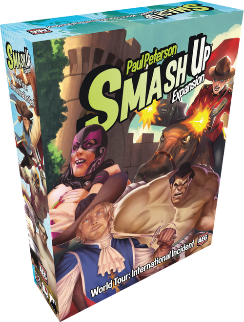 Smash Up: World Tour Int Incident