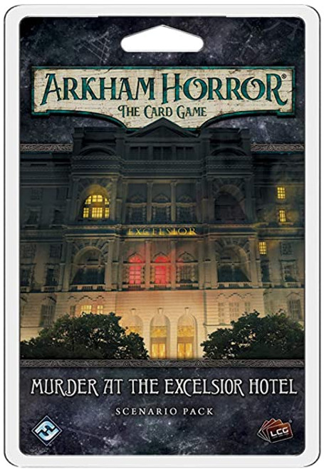 Murder at the Excelsior Hotel, Scenario Pack—Arkham Horror: The Card Game (Sold Out)