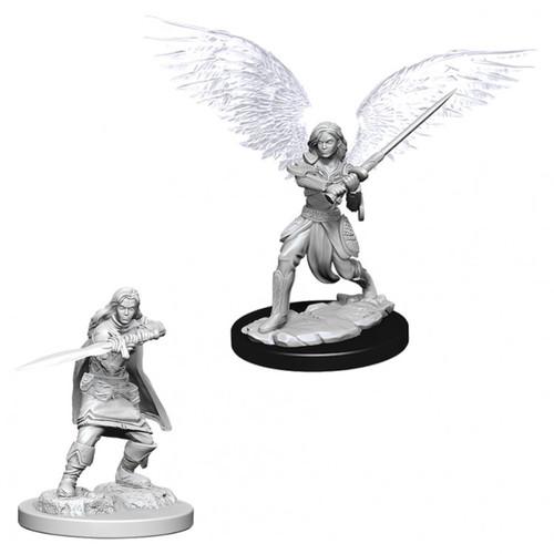 D&D: NMU: Female Aasimar Fighter W6