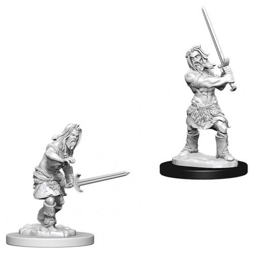 PF DC: Male Human Barbarian W6