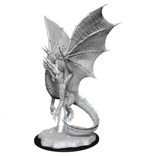D&D NMU: Young Silver Dragon W11