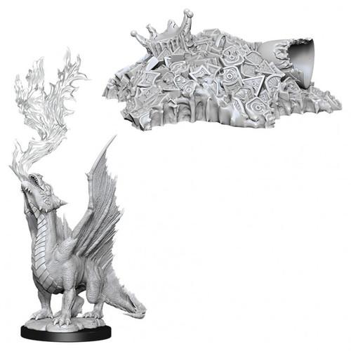 D&D NMU: Gold Dragon Wyrmling & Small Tr