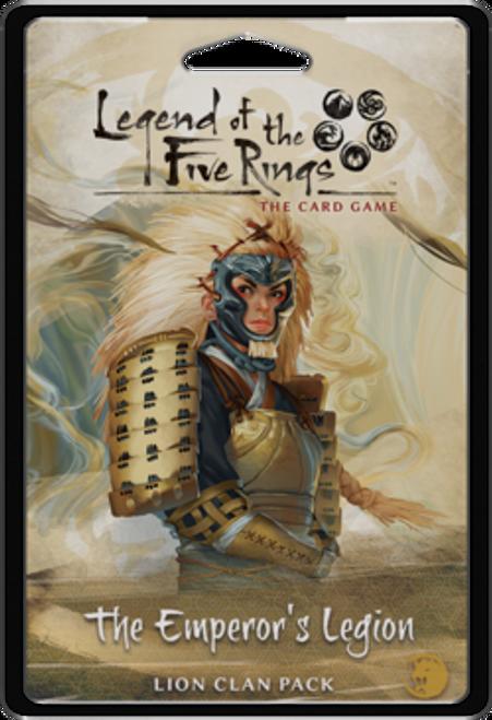 L5R The Emperor`s Legion Lion Clan Pack