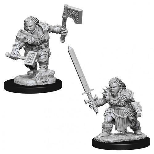 PF DC: Female Dwarf Barbarian W8