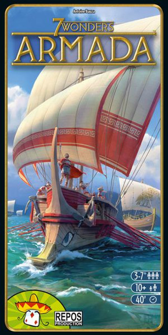 7 Wonders: Armada box image