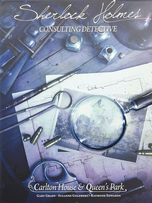 Sherlock Holmes Consulting Detective: Carlton House and Queen's Park box image