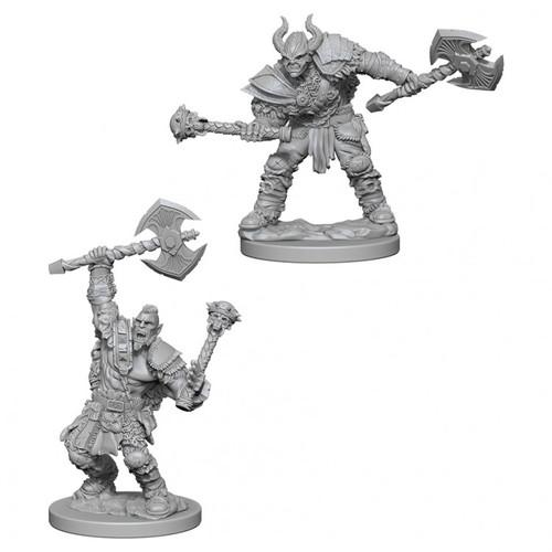 PF DC: Half-Orc Male Barbarian