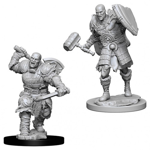 D&D NMU: Male Goliath Fighter W7