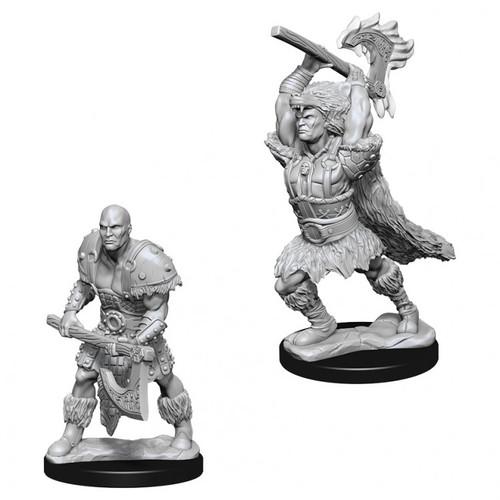 D&D NMU: Male Goliath Barbarian W10