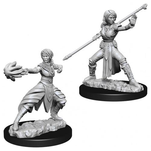 D&D NMU: Female Half-Elf Monk W10