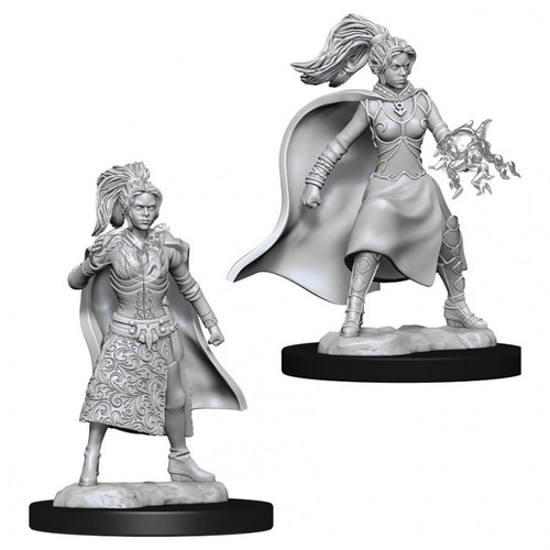 D&D NMU: Female Human Sorcerer W10